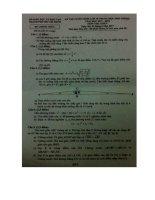 Đề thi tuyển sinh lớp 10 môn toán thành phố hồ chí minh năm học 2017   2018(có đáp án)