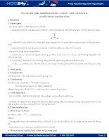 Bộ 180 câu hỏi trắc nghiệm Anđehit  xeton  Axit cacboxylic Hóa học lớp 11 có đáp án