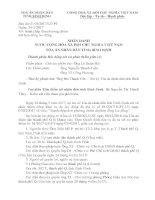 Bản án 012017LĐPT tranh chấp đơn phương chấm dứt hợp đồng lao động