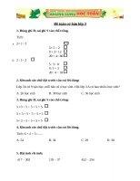 toán cơ bản và nâng cao lớp 3 đề 5