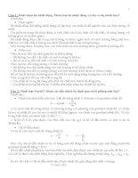 Kỹ Thuật Nhiệt đề cương, bài giảng, lý thuyết