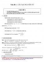 GIÁO án dạy THÊM hóa học 10