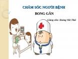 Chăm sóc người bệnh Bong gân