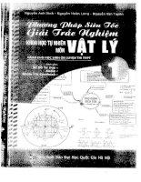 PHƯƠNG PHÁP SIÊU tốc GIẢI TRẮC NGHIỆM KHTN môn vật lý (tập 1), NGUYỄN ANH VINH