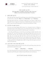 2. The le bieu quyet