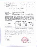 CV dinh chinh so lieu tren BCTC Cong ty me quy 3.2016