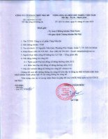 Biên bản Đại hội đồng cổ đông thường niên 2013Biên bản Đại hội đồng cổ đông thường niên 2013   NBSteel.VN TNB CV 145 goi CBTT