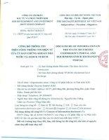 20170719 – KSH – CBTT Công văn xin gia hạn nộp BCTC hợp nhất quý 2 2017 – KSH