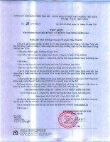 TNB  Thu moi tham du DHDCD thuong nien 2014