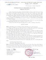 Nghi quyet so 1008 NQ-TMT-HDQT ngày 11 07 2015 cua Hoi dong quan tri nhiem ky 2012 - 2016