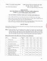 DHG Nghi quyet DHDCD 2013 ngay 28.4.2014