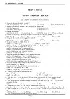 (file word) trọn bộ tài liệu trắc nghiệm toán 10