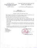 Thông báo về việc nghỉ tết Dương lịch năm 2017   IUH - Trường Đại học Công nghiệp TP.HCM