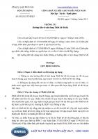 Thông tư 06 2013 TT-BXD Hướng dẫn về nội dung Thiết kế đô thị
