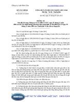 Thông tư 93 2011 TT-BTC Sửa đổi, bổ sung Thông tư số 117 2004 TT-BTC ngày 07 tháng 12 năm 2004 của Bộ Tài chính