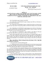Thông tư 94 2011 TT-BTC Hướng dẫn sửa đổi, bổ sung Thông tư số 120 2005 TT-BTC ngày 30 tháng 12 năm 2005 của Bộ Tài chính