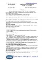 Thông tư 33 2015 TT-BCT quy định về kiểm định an toàn kỹ thuật các thiết bị, dụng cụ điện