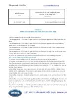Thông tư 09 2016 TT-BXD hướng dẫn hợp đồng thi công xây dựng công trình