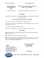Quyết định 08 2016 QĐ-UBND Quy định mức trần thù lao công chứng trên địa bàn Thành phố Hồ Chí Minh