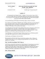 Thông tư sửa đổi, bổ sung thông tư số 152 2011 TT-BTC