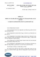 Thông tư 140 2013 TT-BTC thông tư sửa đổi, bổ sung thông tư số 34 2013 TT-BTC ngày 28 3 2013 của bộ tài chính hướng dẫn về lệ phí trước bạ