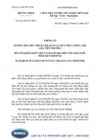 Thông tư 221 2013 TT-BTC hướng dẫn việc trích lập, quản lý quỹ tiền lương, thù lao, tiền thưởng đối với kiểm soát viên và người đại diện vốn nhà nước