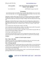 Văn bản hợp nhất 18 VBHN-BTC năm 2016 hợp nhất Nghị định hướng dẫn Luật Thuế tiêu thụ đặc biệt và Luật Thuế tiêu thụ đặc biệt sửa đổi do Bộ Tài chính ban hành