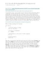 lập trình C++ daynhauhoc.com 8 11 các vấn đề thường gặp khi sử dụng con trỏ lập trình C++ daynhauhoc.com