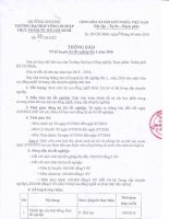 01 06 2016 13 31 52 Thong bao ke hoach thi tot nghiep dot 1 nam 2016