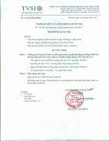 Nghị quyết HĐQT vv chốt quyền dự ĐHĐCĐ thường niên năm 2017