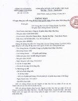 thong bao so 18 CT TB ngay 10 10 2017 V.v dang ky cuoi cung thuc hien nhan co tuc 2016