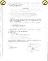 (Thông Báo - Về ngày đăng ký cuối cùng để thực hiện quyền lấy ý kiến cổ đông bằng văn bản)