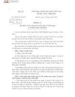 Thông tư số 04 2015 TT-BYT ngày 17 03 2015 của Bộ Y tế Quy định về thừa nhận tiêu chuẩn quản lý chất lượng cơ sở khám, chữa bệnh - Cục quản lý khám chữa bệnh