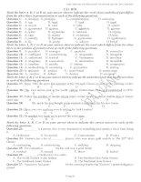 Ngân hàng câu hỏi Trắc nghiệm Tiếng Anh của TP Đà Nẵng - Tự học 247 anh2