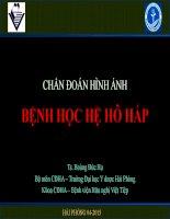 Benh hoc X Quang phổi