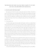 PHƯƠNG PHÁP VIỄN THÁM   địa CHẤT TRONG NGHIÊN cứu cấu TRÚC địa CHẤT và dự báo TRIỂN VỌNG KHOÁNG SẢN