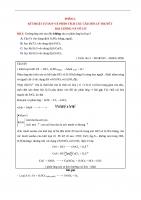 FILE WORD  ÔN CẤP TỐC TỔNG LỰC LÍ THUYẾT  PHẦN 2 HÓA VÔ CƠ (60 trang)
