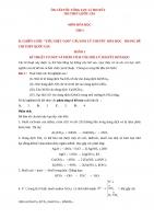 FILE WORD  ÔN CẤP TỐC TỔNG LỰC LÍ THUYẾT  PHẦN 1 HÓA VÔ CƠ (41 trang)