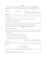 FILE WORD  ÔN CẤP TỐC TỔNG LỰC LÍ THUYẾT  PHẦN 3 HÓA HỮU CƠ (46 trang)