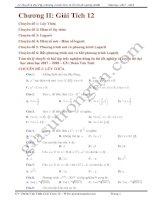 Hàm số mũ logarit phương trình bất phương trình mũ logarit hay đầy đủ