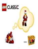 LEGO 10698 hướng dẫn rap ông già Noen