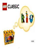 LEGO 10698 hướng dẫn rap mô hình olympic