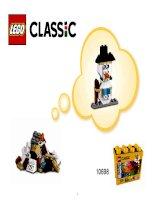 LEGO 10698 hướng dẫn rap người tuyết