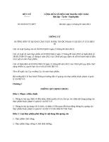 Thông tư 08 2013 TT-BYT - Hướng dẫn về quảng cáo thực phẩm thuộc phạm vi quản lý của Bộ Y tế