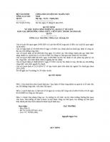Quyết định 76 QĐ-TCHQ - Về việc phân công nhiệm vụ, quản lý tổ chức đào tạo, bồi dưỡng công chức, viên chức trong ngành Hải quan