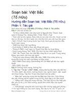 Soạn bài Việt Bắc Phần 1: Tác giả | Soạn văn 12 hay nhất tại VietJack