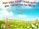 BAI TAP MON THONG TIN TRONG QUAN LY HCNN