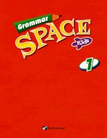 Grammar space kids 1 grammar cards