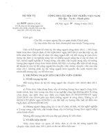 Công văn về việc đăng ký thi nâng ngạch chuyên viên chính, chuyên viên cao cấp đối với viên chức