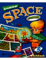 Grammar space beginner 3 workbook